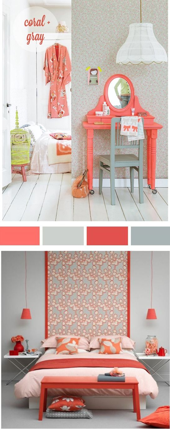Centsational Girl » Blog Archive » Decorating with… Coral!