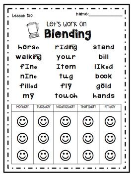 Reading Mastery K  Suggested Uses:  Allow students to practice with a buddy in center or on their own.  Send home for nightly reading practice.  Use in data binders as a self assessment tool.  Use in small group or one-on-one instruction.  Time students to see how quickly they can correctly complete the chart.