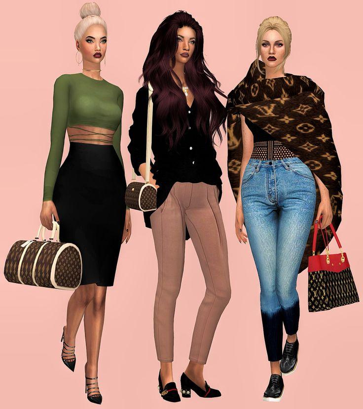 Sims  Designer Clothes Downloads