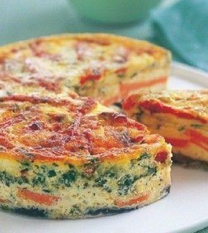 Zöldséges, tojásos finomság