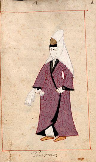 "Rålamb Costume Book 6  Turkish woman  ""Turca"""