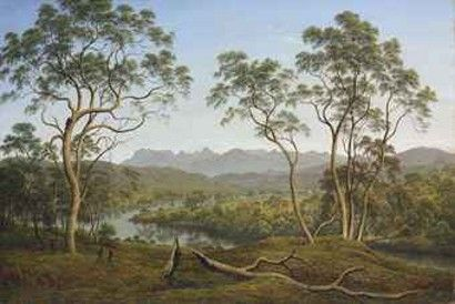 John Glover is known as the father of Australian landscape painting American Hard Assets http://www.ahametals.com/john-glover-ben-lomond/