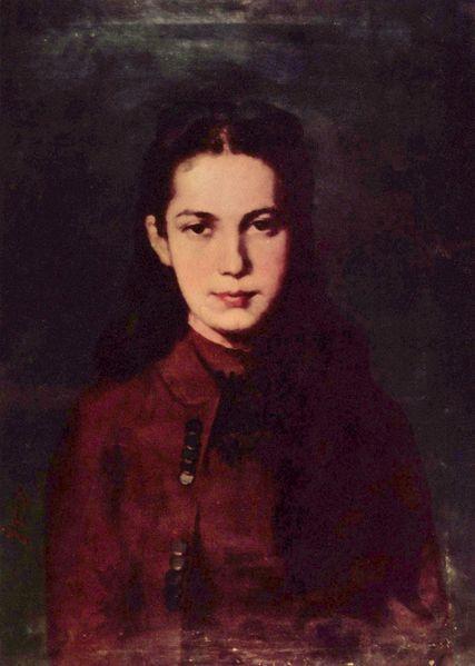 Portretul unei fete