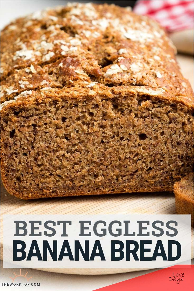 Get the recipe for the best Eggless Banana Bread. It's ...
