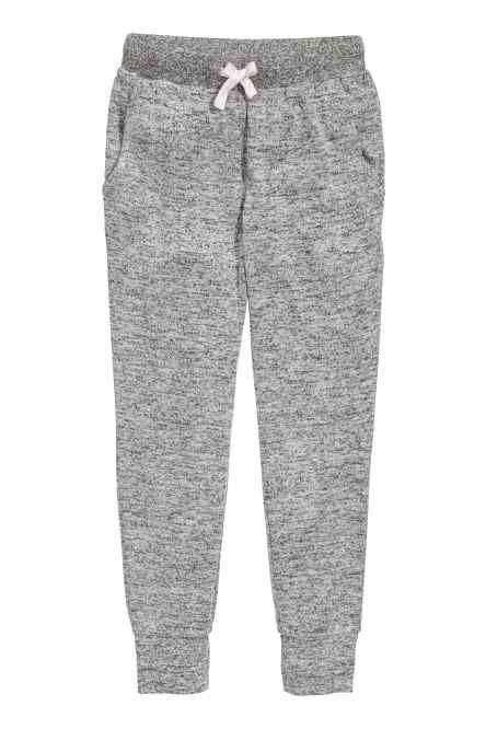 Fine-knit joggers
