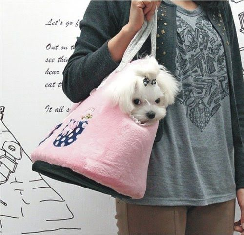 pet dog cat puppy carrier bag sling tote purse carriers H4863 #Dog Carriers #Pet Carriers #small dog carriers #Sling Dog Carriers #Pet Sling Carriers