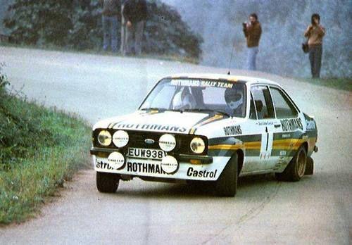 Vatanen Rothmans escort