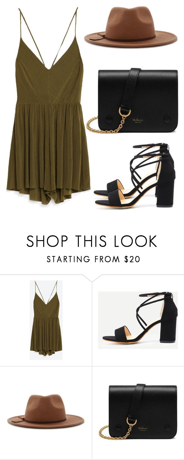 """""""Sem título #4451"""" by beatrizvilar on Polyvore featuring moda, Forever 21 e Mulberry"""
