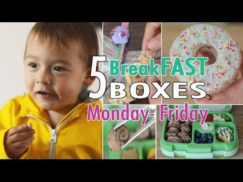 Kiddies Schulbrote Teil 3 | BreakFAST Hacks | Lunchbox | mamiblock - Der Mami Blog - YouTube
