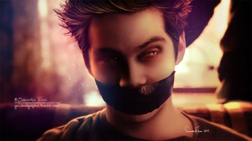This is amazing!!! Dylan O'B as Stiles from Teen Wolf fan art