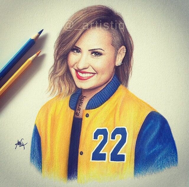 20 best Demi\'s drawings images on Pinterest | Demi lovato, Drawings ...