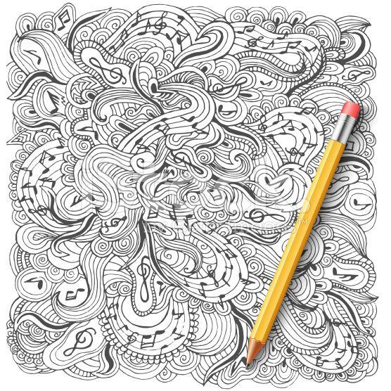 Astratto sfondo musicale di progettazione.  Illustrazione vettoriale concetto arte vettoriale stock royalty-free