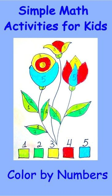 Simple Math Activities for Kids - Cheer and Cherry