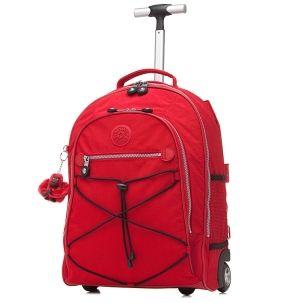 Sausalito 18 Wheeled Backpack in Red #Kipling #KiplingSweeps