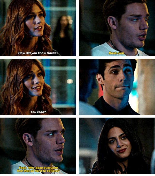 god matt's face is just like, oooooooohhhhhhh this is going to end so bad, and buddy i cant protect you cause clary is scary