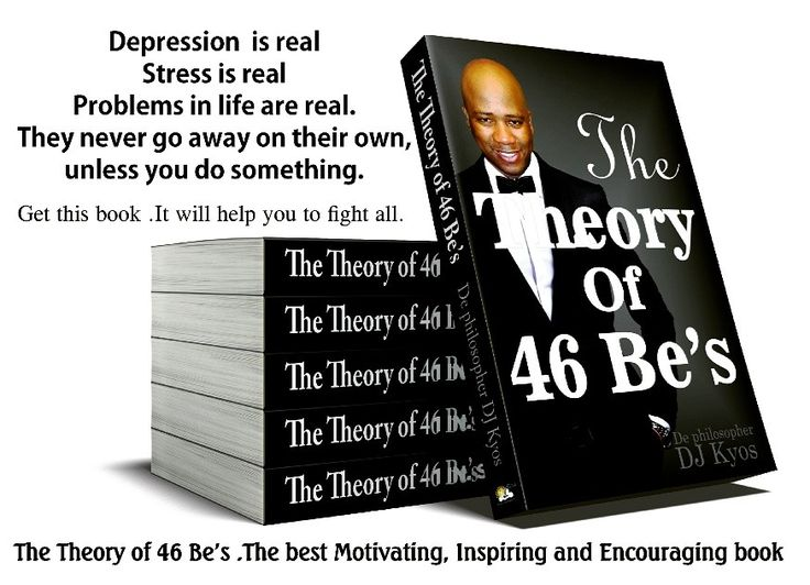 Depression is real Stress is real Problems in life are real. They never go away on their own, unless you do something.  Its time you fight the right fight. Get yourself a copy of The Theory of 46 Be's book. It will help to get through it all.  #depression #stress #problems #suicide #successbooks #Encouragementbooks #inspirationbook #quotes #motivationbooks #motivation #quotes #life #lifelessons #braamsuicide #student #sowetan #citizen #sundaytimes #bookstoread #work #dating #marriage…