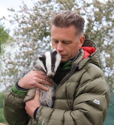 Chris Packham badger cute kind