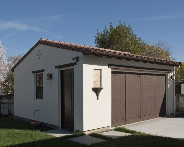 Pin By Michael Zerance On Spanish Style Detached Garage Garage Design Detached Garage Detached Garage Designs