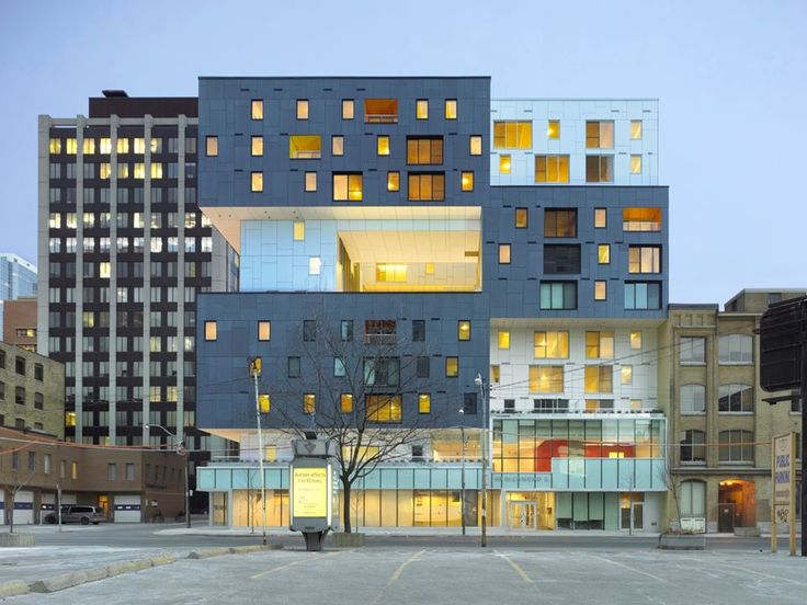 60 Richmond Housing by Cooperative  Teeple Architects in Toronto, Canada