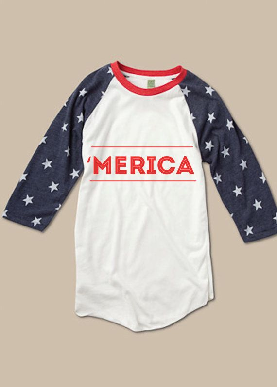 Merica T shirt America by Woosah by Woosah on Etsy, $25.00