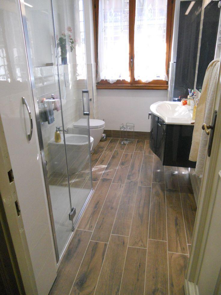 7 best bagno effetto legno images on pinterest ali attic and candies - Pavimento bagno effetto legno ...