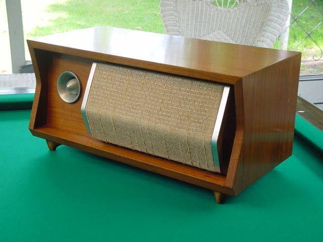 Retro style radio type coaxial speaker!