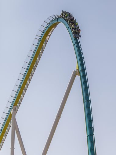 Fury 325 First Drop - Fury 325, the tallest and fastest | See this & more at: http://twodaysnewstand.weebly.com/usa-today