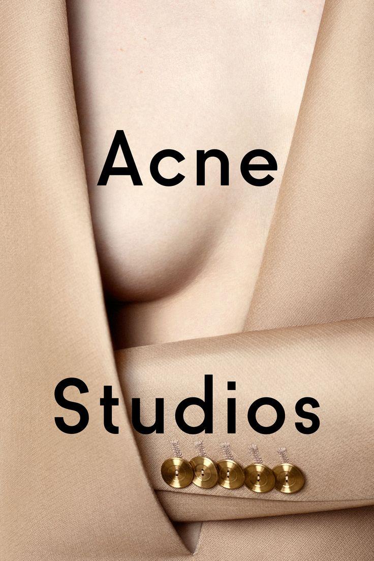 La campagne printemps-été 2015 d'Acne Studios par Viviane Sassen |