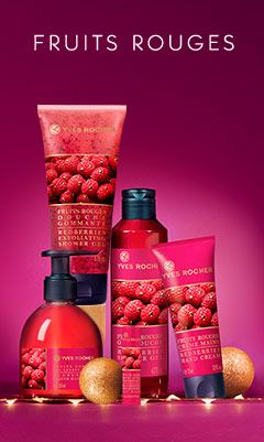 Fruits rouges - Yves Rocher