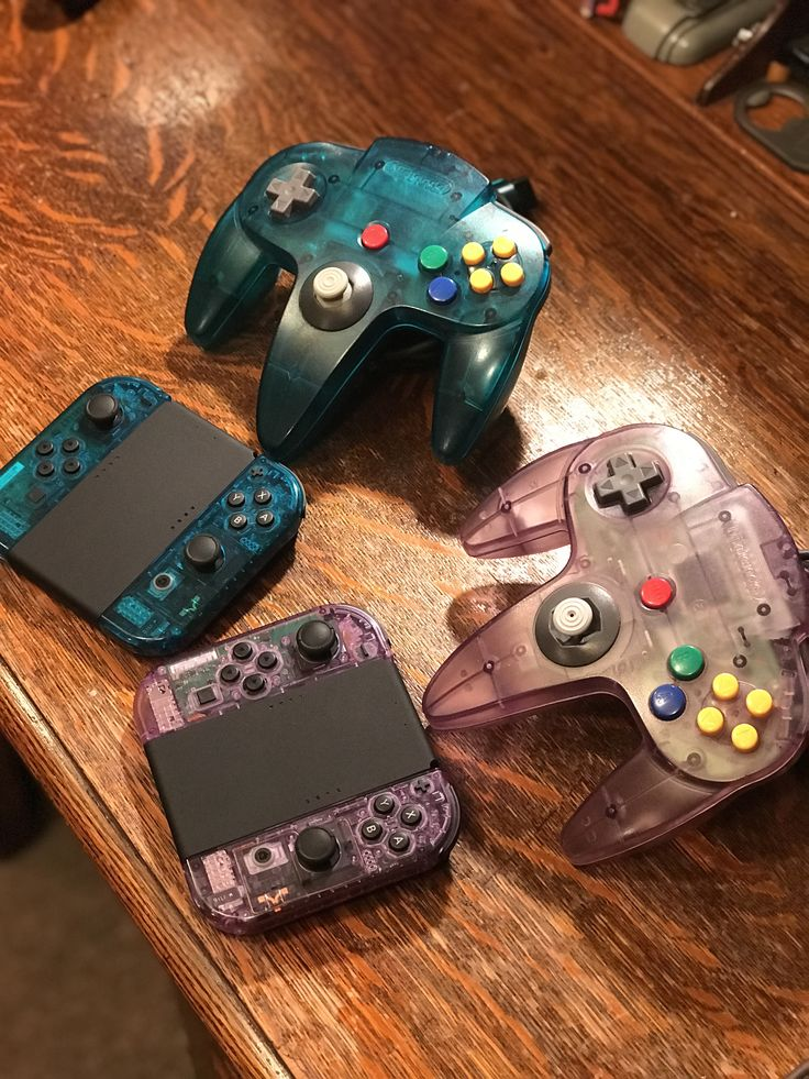 Atomic purple and Ice Blue Joy Cons to match my favorite original n64 controllers! http://bit.ly/2lnzap3 #nintendo