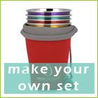 ecococoon make your own 4 cup set - free pouch offer