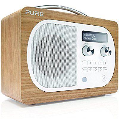 Pure Evoke D4 - VL-62227 - Chêne Radio numérique DAB USB Marron