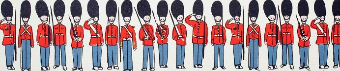 Cath Kidston's London Guards are lining up ready to welcome the brand new Asia flagship store, opening Sunday 3 November on Huai Hai Road, Shanghai.