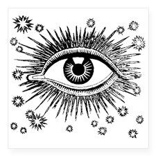 All Seeing Eye Sticker for