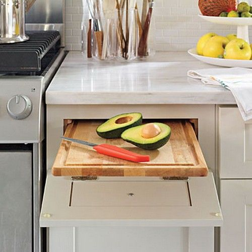 Выдвижные системы для кухни: самые современные механизмы — Своими руками