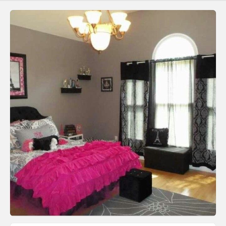 Cute Paris Themed Teen Bedroom Home Decor Girls Bedroom Pinterest
