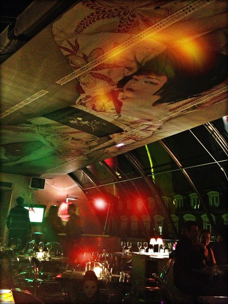 Kong restaurant Paris 4°- Love the Playlist  by Brigitte Ardisson.