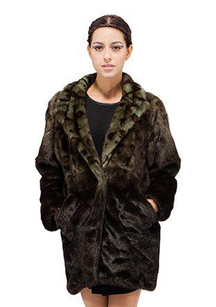 234 best Faux fur woman coat images on Pinterest   Mink fur, Dark ...
