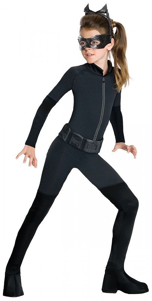 Catwoman Costume for Kids Girls Superhero Cat Woman Halloween Fancy Dress: Get it for $20.09 (was $42.09) #coupons #discounts