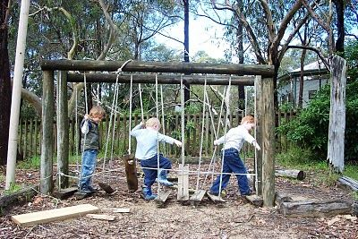 Modern Parents Messy Kids: How to Set Up Natural Play Spaces in Your Own Back Yard