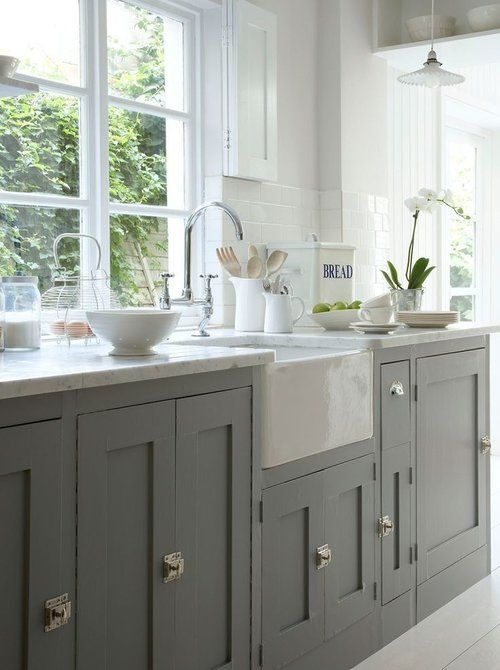 Basic builder-grade kitchens are a fact of life. Sometimes you just have to  live with it , when going custom isn't in the budget. The good news is a  basic kitchen just needs a little decorative nudge to make them more  special. Here are a couple of inexpensive tweaks and improvements to  upgrade your space, that don't require major renovations or time.