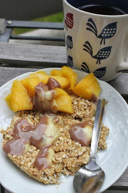 Havermout-ontbijtkoek