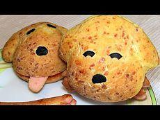 Домашние сырные булочки - собачки / Рецепт быстрых булочек