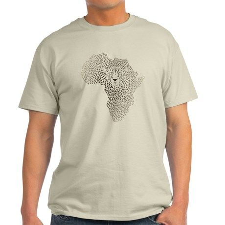Symbol Africa in cheetah camuflage T-Shirt on CafePress.com