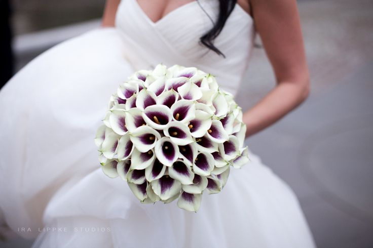 Bruidsboeket van lelies