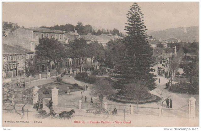 Braga On: Memória de Braga - Avenida Central, Passeio Público (3)