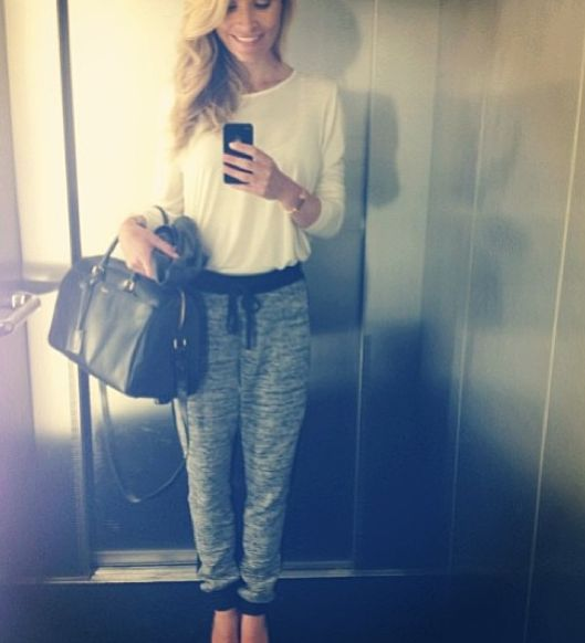 By Malene Birger pants - I just LOVE them - got myself a pair todau. On the picture: Eva Harlou