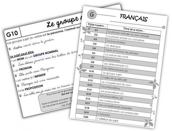 TE français