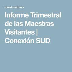 Informe Trimestral de las Maestras Visitantes | Conexión SUD