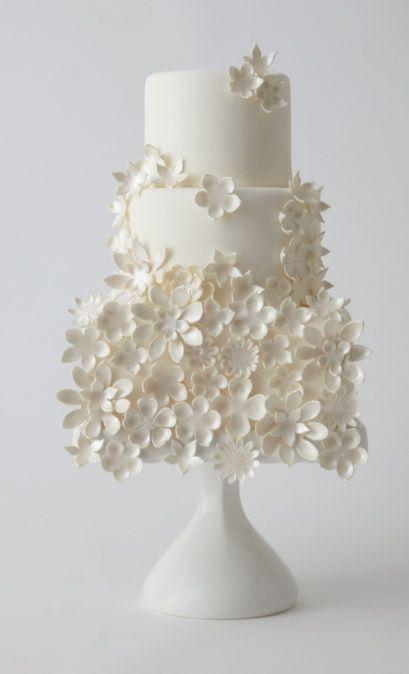 White cake - elegant